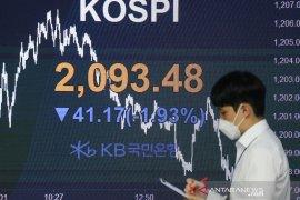 Saham Korsel jatuh di tengah kekhawatiran inflasi AS dan varian Delta