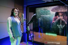 "Via Vallen menyanyikan OST ""Raya and the Last Dragon\"" versi Indonesia"