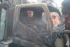 Mobil Damkar ikut terbakar karhutla di Tanjungpinang