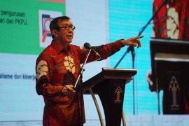 Menkumham: SBY-AHY jangan tuding pemerintah terkait persoalan Demokrat