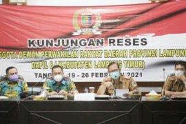 Kunjungan reses DPRD Provinsi Lampung, Tarmizi: Kami butuh masukan atas rencana pembangunan ke depan