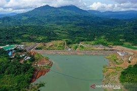 Bendungan Napung gete mampu airi 300 hektare area persawahan