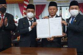 DPRD Lampung Selatan gelar paripurna usulan pengangkatan Bupati dan Wakil Bupati terpilih