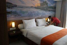 Perkembangan TPK hotel di Sultra selama 2021 turun 13,82 poin