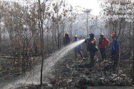 Karhutla di Desa Tenggayun Raya sudah padam, titik api meluas ke desa tetangga