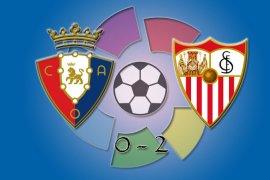 Liga Spanyol - Sevilla gusur Barcelona di posisi ketiga klasemen setelah kalahkan Osasuna