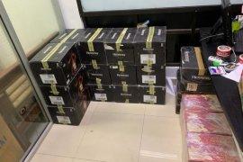 BC Dumai gagalkan penyelundupan ratusan miras asal Malaysia