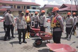 Polda Sulawesi Utara gelar apel kesiapan antisipasi Karhutla