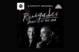 "Barack Obama dan Bruce Springsteen buat podcast \""Renegades: Born in the USA\"""