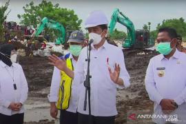 Presiden perintahkan perbaikan tanggul Sungai Citarum selesai dalam dua hari