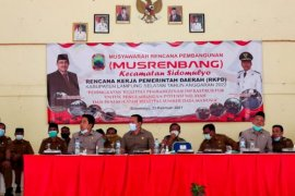 Plh Bupati Lampung Selatan gelar Musrenbang Kecamatan Sidomulyo