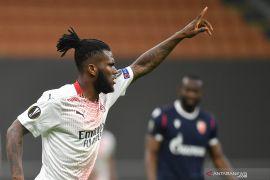 Eksekusi penalti Franck Kessie bawa Milan lolos 16 besar