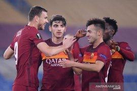Ringkasan Liga Europa: AS Roma melaju, PSV disingkirkan  Olympiakos