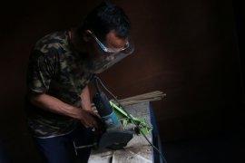 Kisah perajin bambu di Lombok Tengah