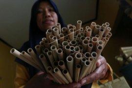 Perjuangan perempuan perajin bambu meraup pasar ekspor di saat pandemi