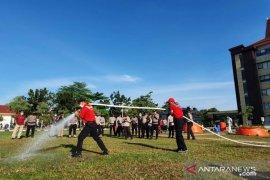 Polda Riau gandeng PT RAPP latih personil atasi karhutla