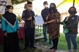 Pemkab Sigi terima bantuan 126 unit huntap dari Yayasan Sheep Indonesia