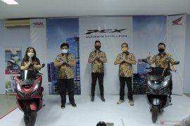 Rilis peluncuran All New PCX Honda Anugerah Perdana Palu