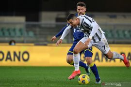 Juventus gagal membawa pulang tiga poin dari kandang Verona