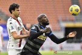Inter Milan kian kuat di puncak klasemen Liga Italia