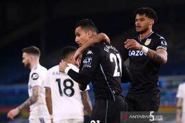 Villa raih tiga poin penuh di markas Leeds