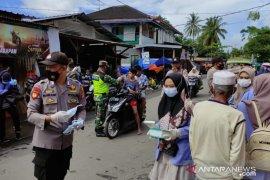 Sosialisasikan Lomba Kampung Sehat Jilid 2, Polsek Jonggat gandeng Pemdes dan Mahasiswa KKN