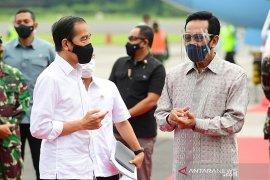 Presiden Jokowi berharap vaksinasi segera selesai, ekonomi bangkit kembali