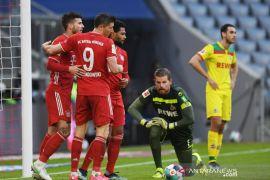 Liga Jerman-Bayern akhiri krisis kecil dengan menang besar atas Cologne 5-1