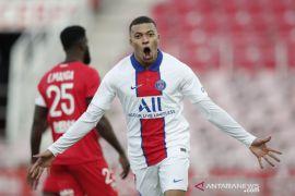 Liga Prancis-Dua gol Kylian Mbappe bantu PSG hancurkan Dijon 4-0