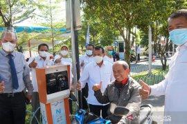 UNP resmikan palang parkir dan pintu otomatik bersama Bank Nagari