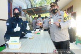 149 personel Polres Solok lakukan tes urine cegah penyalahgunaan narkoba