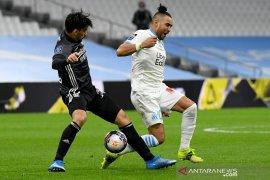 Liga Prancis, Marseille cuma imbang 1-1 lawan 10 pemain Lyon