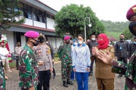 Wali Kota Bandarlampung kunjungi Markas Marinir