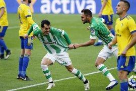 Mengalahkan Cadiz 1-0, Real Betis naik ke posisi enam La Liga