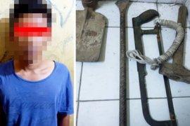 Polisi pergoki aksi pencurian kabel Telkom, satu remaja diamankan
