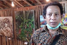 Tobong Art Space, konsep pameran lukisan di tengah desa