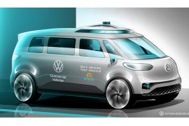 Volkswagen siap hadirkan mobil komersial listrik tanpa sopir