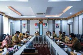 Wabup Lampung Barat terima kungker Dinas Kehutanan Provinsi Lampung