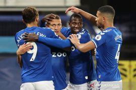 Everton akhirnya rasakan lagi kemenangan  kandang