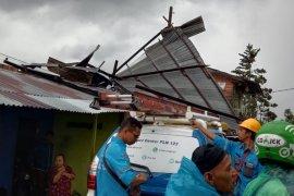 Lima rumah warga Jambu Aia Agam rusak akibat angin