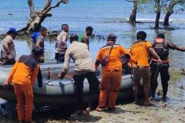 Tim SAR gabungan cari korban kecelakaan di perairan teluk Nabire