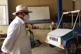 Gubernur: Mobil listrik karya siswa SMKN 4 Pandeglang perlu dikembangkan