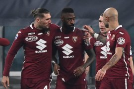 Serie A tak mau tunda laga kendati Torino dikarantina
