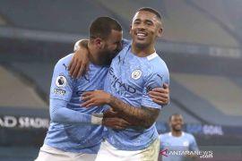City kian mapan di puncak klasemen sementara Liga Inggris