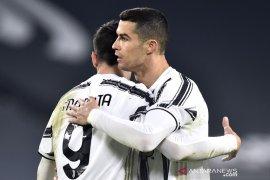 Juventus pangkas jarak dari puncak klasemen setelah hajar Spezia 3-0