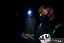 BKSDA Agam pasang spanduk imbauan di objek wisata lokasi munculnya buaya