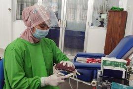 UTD PMI Lampung catat empat orang penyitas COVID-19 donor plasma konvalesen