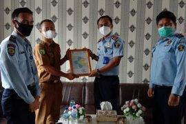 """Rutan IIB Kotabumi dapat sertifikat \""""Laik Hygiene Sanitasi\"""" dari Dinkes"""