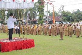 Wali Kota Solok gelar pelaksanaan apel perdana