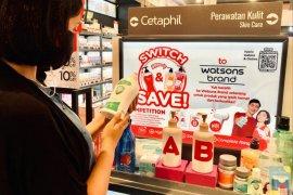 Watsons hadirkan \'Switch & Save\' untuk gaya hidup sehat dan hemat